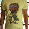 Hot air balloon uomo