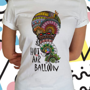 Hot air balloon donna